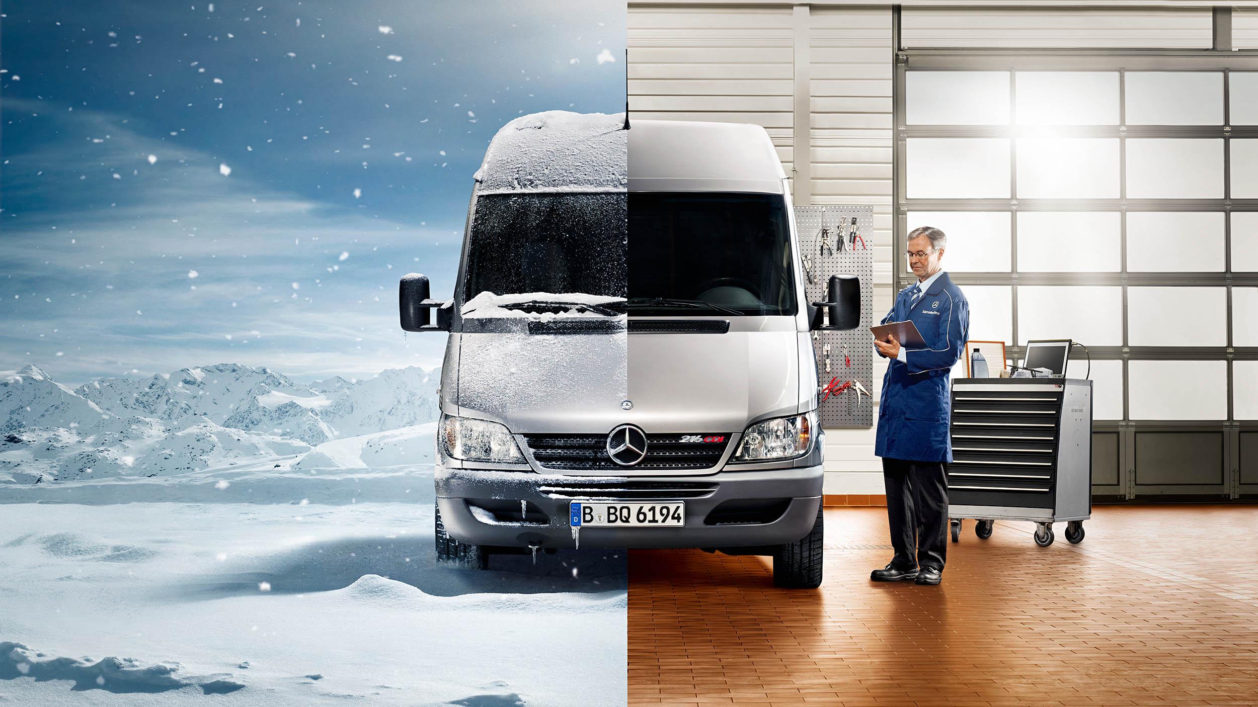 Mercedes Benz Winteraktion
